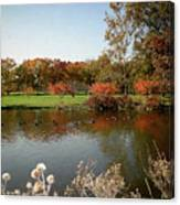 East Coast Autumn Canvas Print