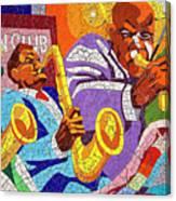 East Eleventh Street Tile Mural Austin Canvas Print