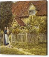 East End Farm Moss Lane Pinner Canvas Print