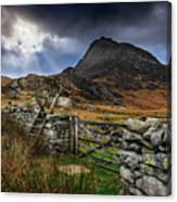 East Face Tryfan Snowdonia Canvas Print