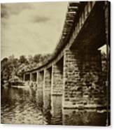 East Falls Rail Road Bridge Canvas Print