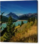 East Glacier Lake Canvas Print
