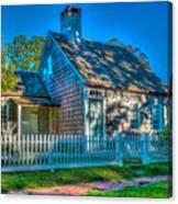 East Hampton Antique Cottage Canvas Print