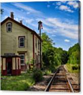 East Kingston Station Canvas Print