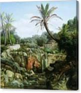 East Landscape Henryk Semiradsky Canvas Print