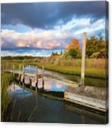 East Moriches Reflections Canvas Print
