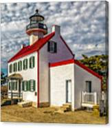 East Point Light -renovated Canvas Print