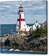 East Quoddy Lighthouse Canvas Print