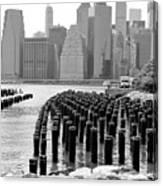 East River #1 Canvas Print