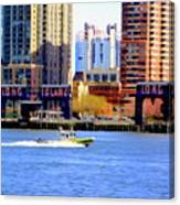 East River Scene Canvas Print