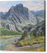 East Rosebud Montana Canvas Print