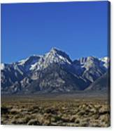 East Side Sierra Nevada Range Canvas Print