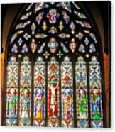 East Stained Glass Window Christ Church Cathedral 1 Canvas Print