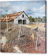 East Texas Barn Canvas Print