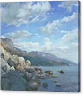 East View. A Seascape In The Vicinity Of Foros Mmxi Canvas Print