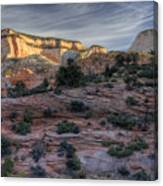 East Zion Canyon Sunrise Canvas Print