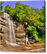 Eastatoe Falls/twin Falls 2 Canvas Print