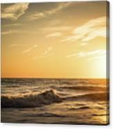 Eastcoast Sunset Canvas Print