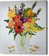 Easter Arrangement Canvas Print