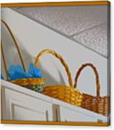 Easter Baskets Canvas Print