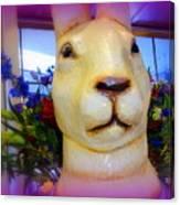 Easter Bunny Bouquet Canvas Print