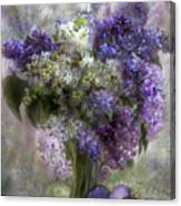 Easter Lilacs Canvas Print