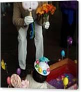 Easter Parade Visit Canvas Print