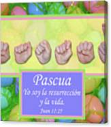 Easter Spanish Canvas Print