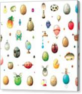 Eastereggs Canvas Print