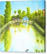 Eastern Canal Impression Canvas Print
