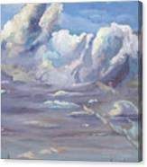 Eastern Flagler County Cloud Series IIi Canvas Print
