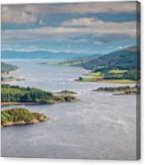 Eastern Kyle Of Bute Canvas Print