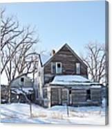 Eastern Montana Farmhouse Canvas Print