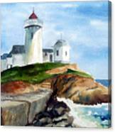 Eastern Point Light Canvas Print