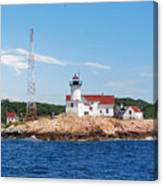 Eastern Point Light Canvas Print