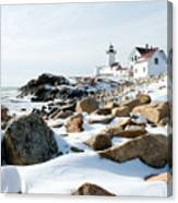 Eastern Point Light II Canvas Print