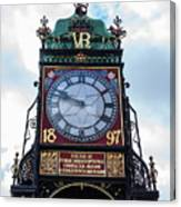 Eastgate Clock In Chester Canvas Print