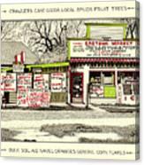 Eastside Market Canvas Print
