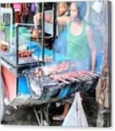 Eat Ost Street Canvas Print