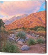 Eaton Canyon Sunset Canvas Print
