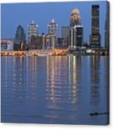 Ebb And Flow Of Louisville Canvas Print