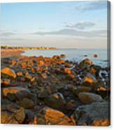 Ebb Tide On Cape Cod Bay Canvas Print