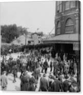Ebbets Field Crowd 1920 Canvas Print
