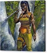 Ebony Elf Canvas Print