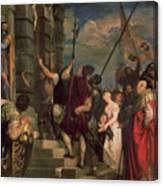 Ecce Homo, 1543 Canvas Print