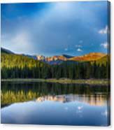 Echo Lake 4 Canvas Print