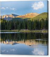 Echo Lake 6 Canvas Print