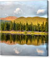 Echo Lake Painterly 1 Canvas Print