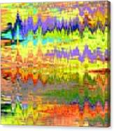 Echocardiogram Canvas Print