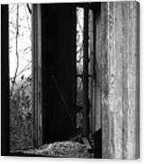 Echoes - Monochrome Version Canvas Print